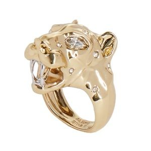 ALEXIS BITTAR • Panther Head Ring